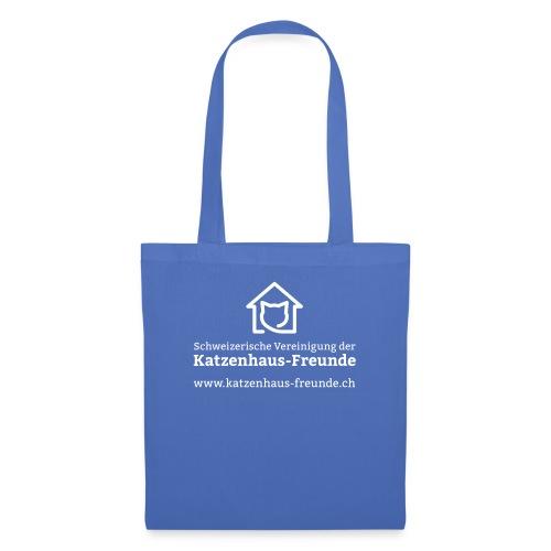 Logo KatzenhausFreunde - Stoffbeutel
