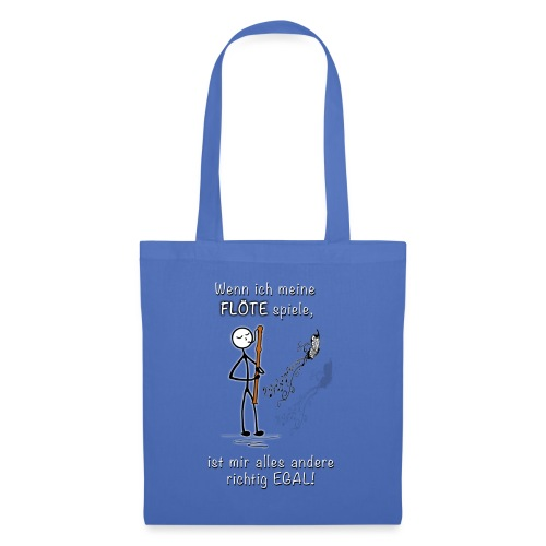 Recorder Love f. dark colours - Tote Bag