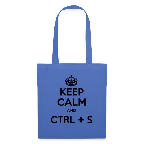 Keep Calm and CTRL+S - Tote Bag