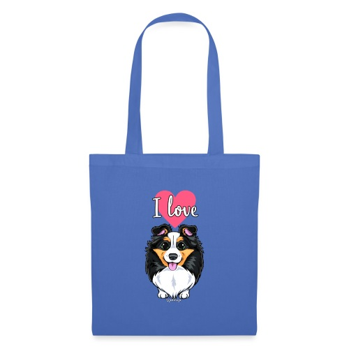 Sheltie Dog Love - Tote Bag