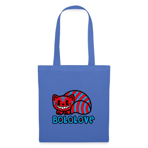 Bololove Cat Red - Borsa di stoffa