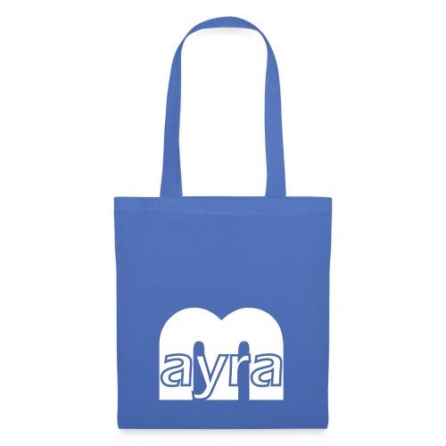 Mayra Logo 2 weiß - Stoffbeutel