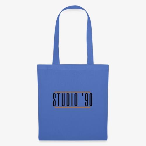 Logo zwart Studio 90 - Tas van stof