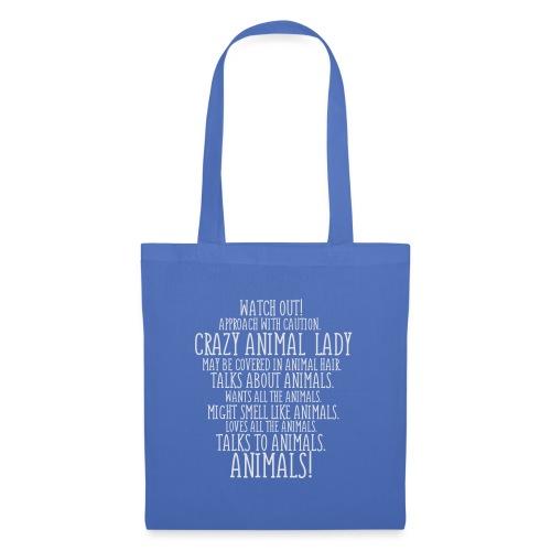 Crazy Animal Lady - Kangaskassi