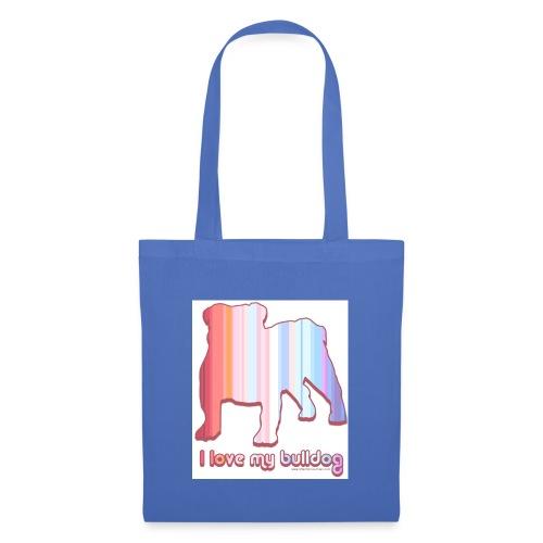 I love my Bulldog - Tote Bag