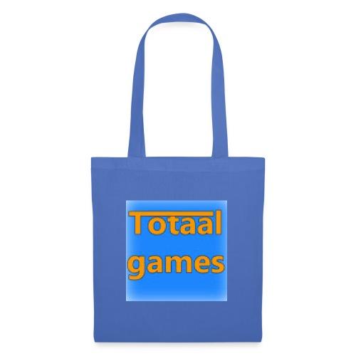 Totaal Games Blauw - Tas van stof