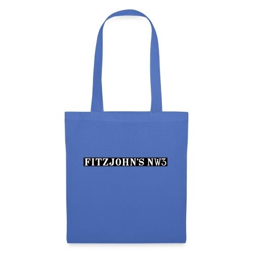 Fitzjohn's NW3 black bar - Tote Bag