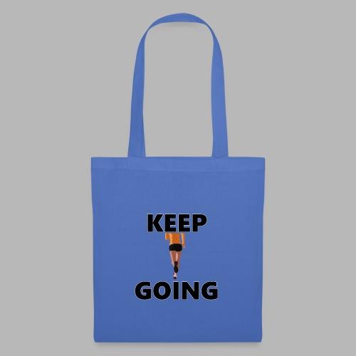 Keep going - Stoffbeutel