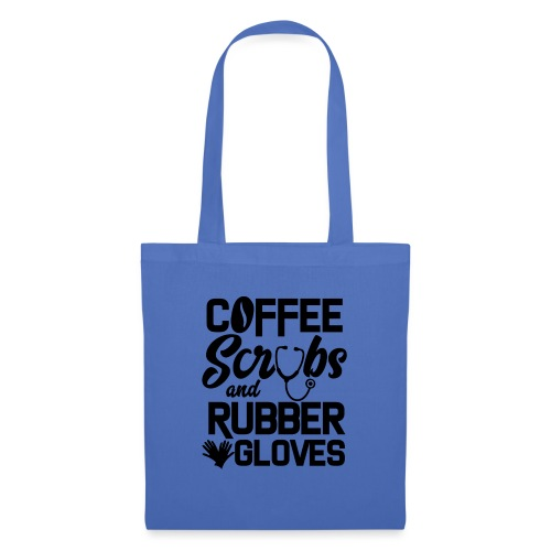 Coffee scrubs and rubber gloves - Tote Bag