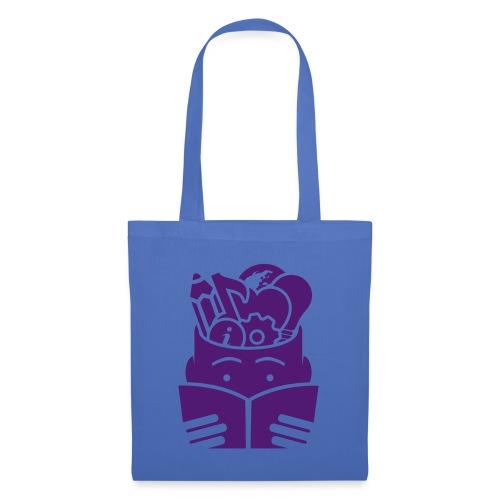 hoofdlezenblauw - Tas van stof