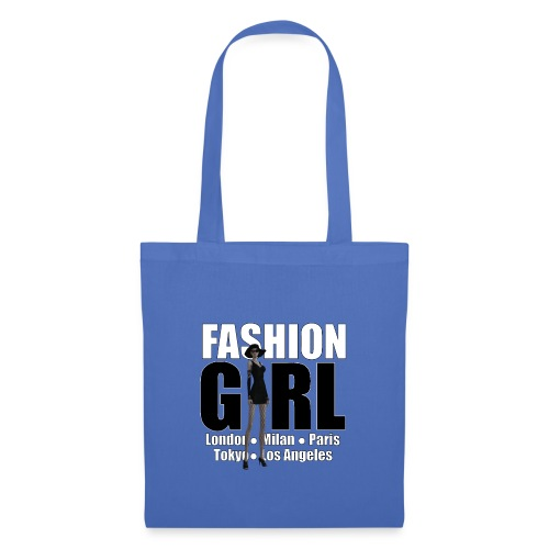 The Fashionable Woman - Fashion Girl - Tote Bag