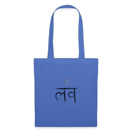 LOve SansKrit Black - Tote Bag