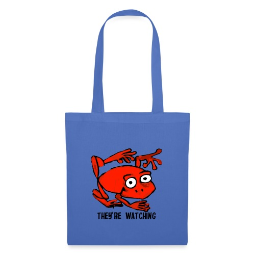 red frog - Borsa di stoffa