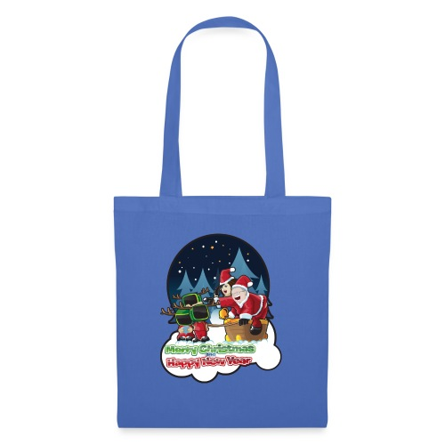 Merry Christmas And Happy New Year - Tote Bag