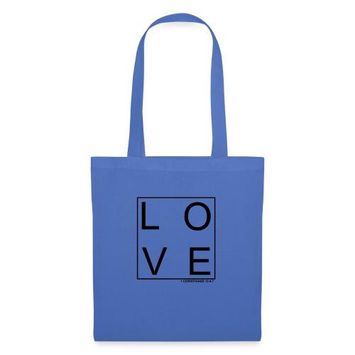 LOVE - Bolsa de tela