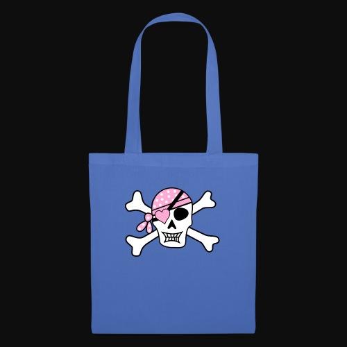 pirate f - Sac en tissu