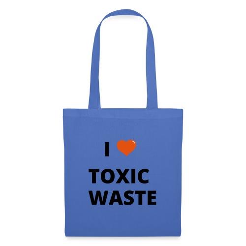 real genius i heart toxic waste - Tote Bag