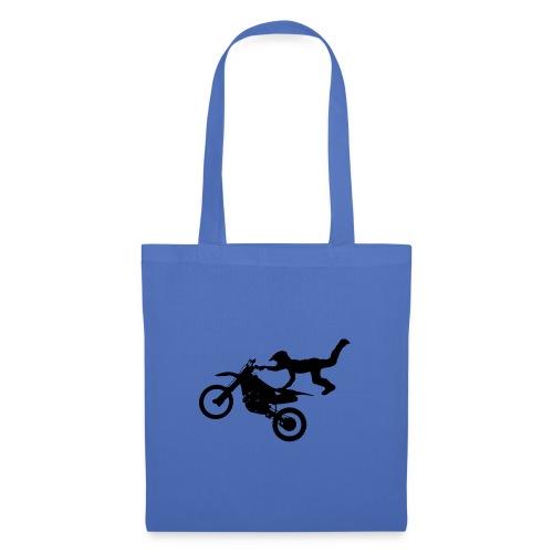 Motocross Freestyle Männer Frauen - Stoffbeutel