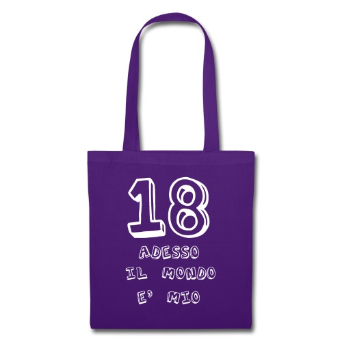 18 adesso il mondo e mio - Borsa di stoffa