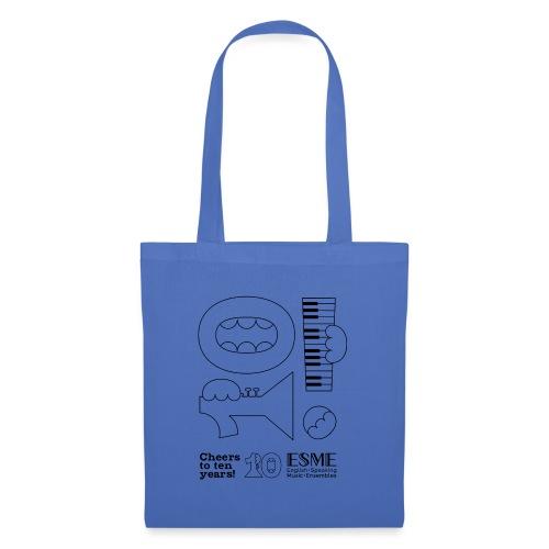 ESME Anniversary Simple Design Schwartz - Stoffbeutel