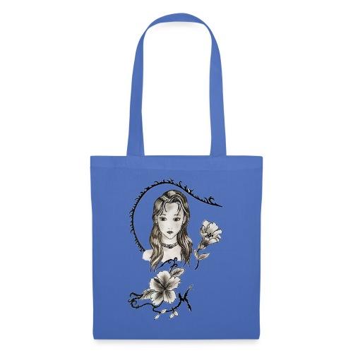 La Fille et la Fleur - Tote Bag