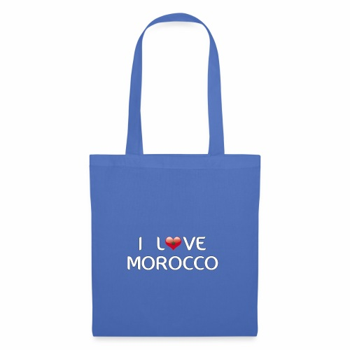 i_love_morocco - Tote Bag
