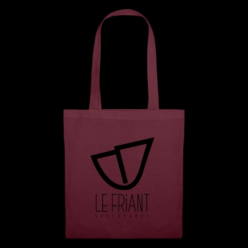 Logo Noir Le Friant Surfboards - Tote Bag