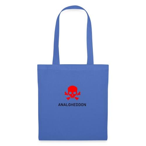 ANALGHEDDON Lustiges T-Shirt Design - Stoffbeutel