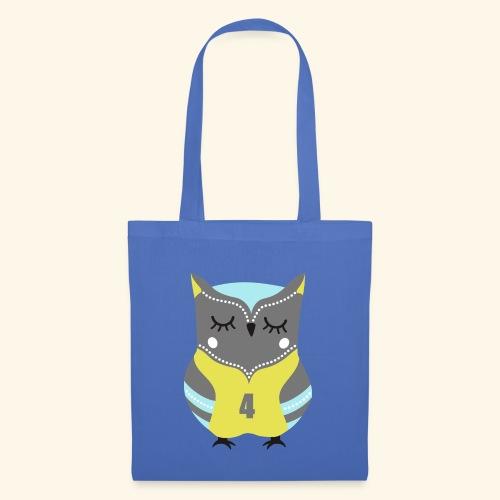 Oh my owl est super chouette - Sac en tissu
