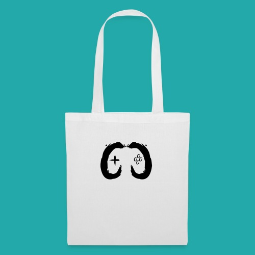 Crowd Control Controller Logo Black Large - Tote Bag