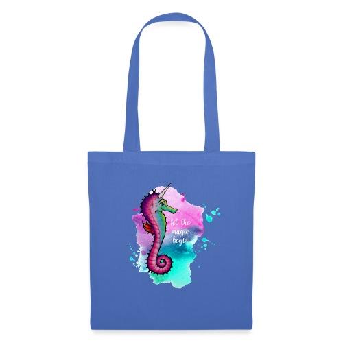 Seahorse-Unicorn - Stoffbeutel