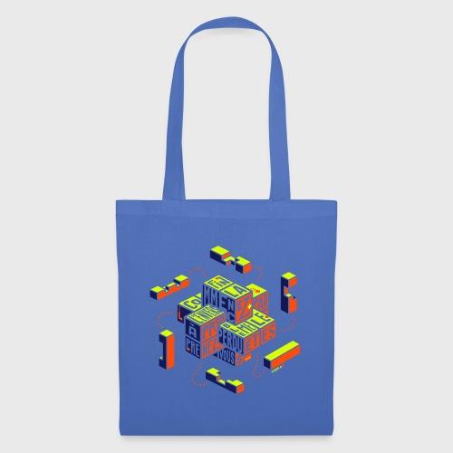 Casse-tête typographique - Tote Bag