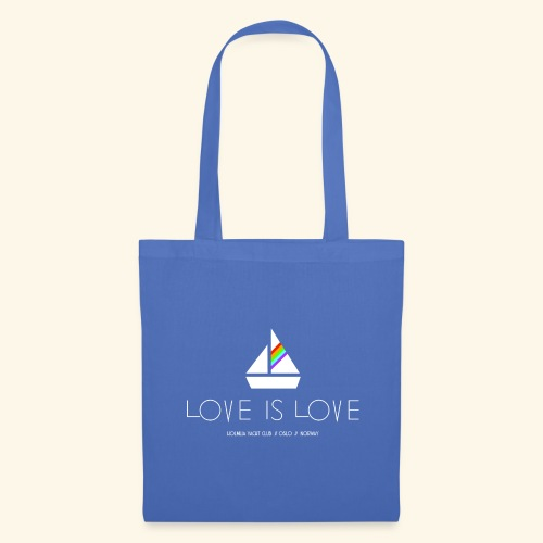 LOVE IS LOVE!!! - Stoffveske