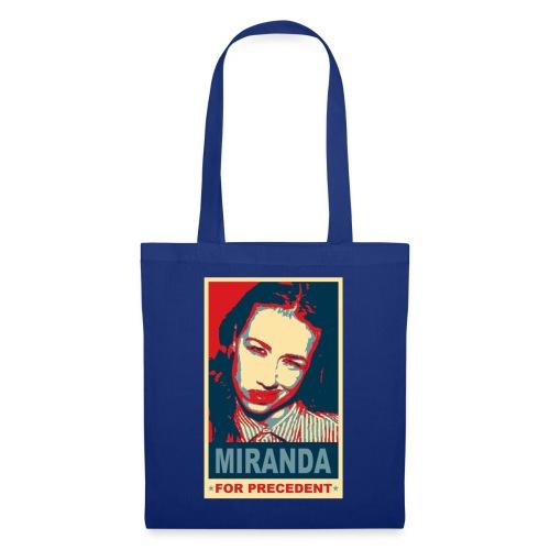 tshirt miranda for precedent - Tote Bag