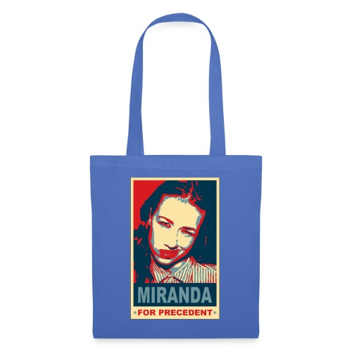 tshirt miranda for precedent - Tote Bag