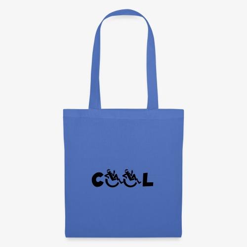 Cool rolstoel gebruiker 002 - Tas van stof