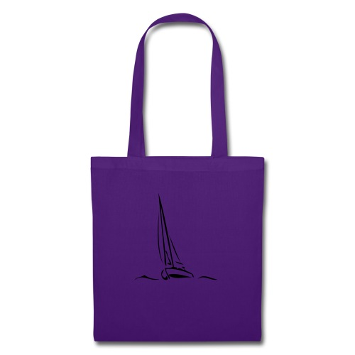 Segelboot - Stoffbeutel