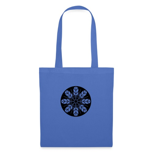Inoue clan kamon in black - Tote Bag