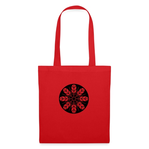 Inoue clan kamon in black - Tote Bag