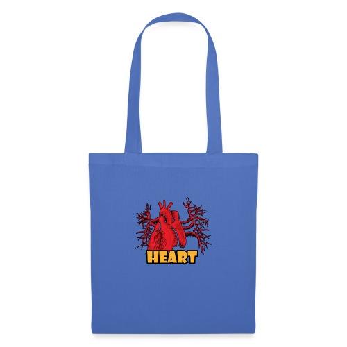 HEART - Borsa di stoffa