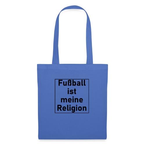 Fußball ist meine Religion V2 - Stoffbeutel