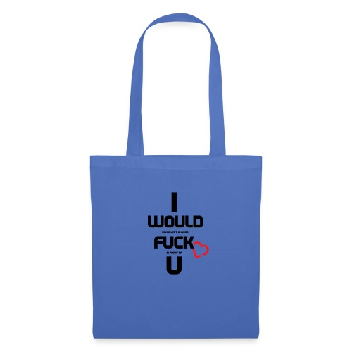 Never fuck the Heart - Tote Bag
