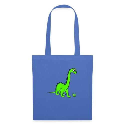 dinosauro - Borsa di stoffa