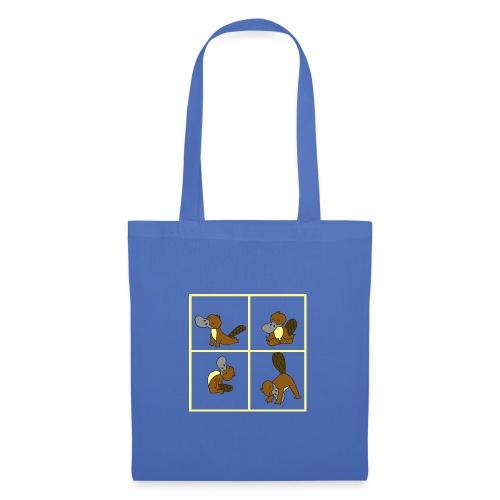 ornithorynque fait du yoga - Tote Bag