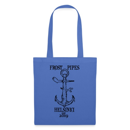 Frost Pipes Anchor - Tote Bag