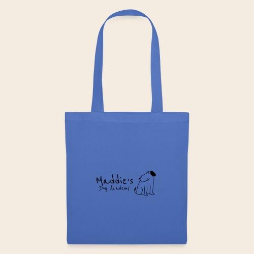 Académie des chiens de Maddie (noir) - Sac en tissu