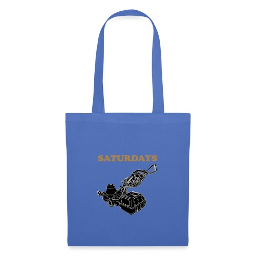 Saturdays Lawnmower - Tote Bag