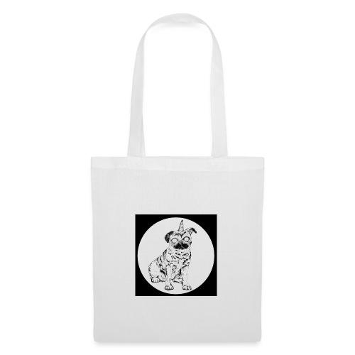 rysunek Pies-Jednorożec - Torba materiałowa
