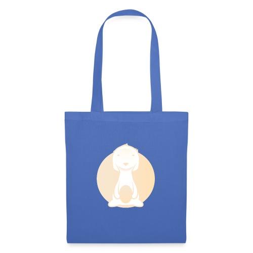 Die Kuschel Kiste: rundes Logo - Stoffbeutel