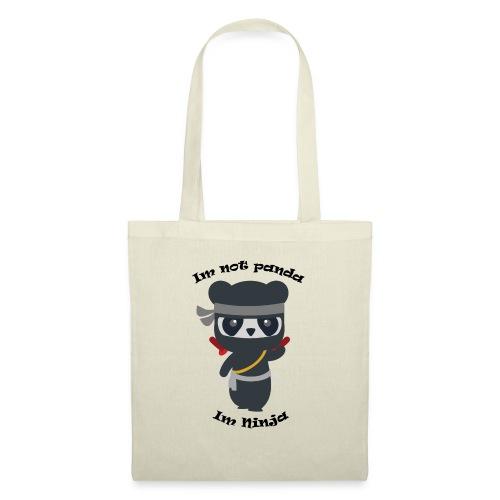 Non sono un Panda - Borsa di stoffa
